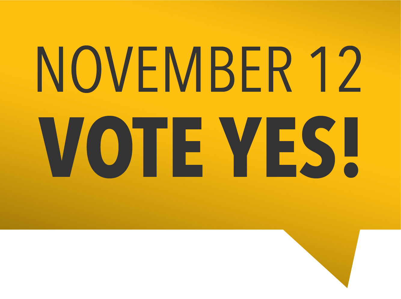 Vote Yes for Improve Our Tulsa Graphic